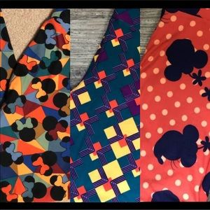LulaRoe Minnie Mouse and multicolor OS